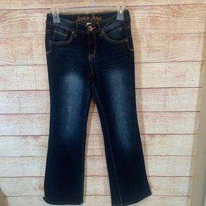Girls justice jeans size 12 regular